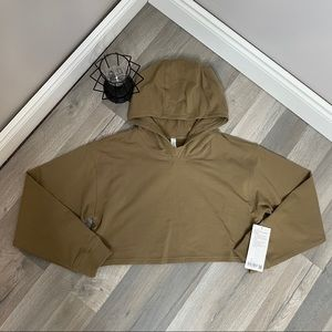 BNWT Lululemon LA All Yours Cropped Hoodie